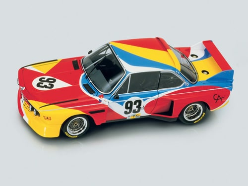 1975 BMW 3.0 CSL Art Car by Alexander Calder - Side Top