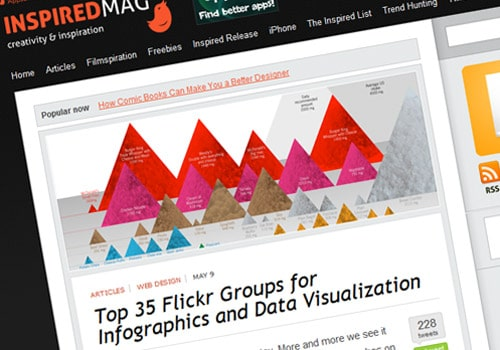 Top 35 Flickr Groups for Infographics and Data Visualization