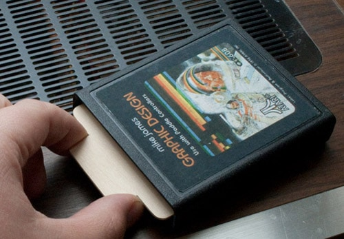 Atari 2600 Business Card Holder by Mike James