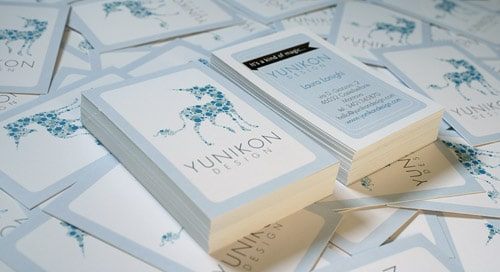 Yunikon Design - Business Cards