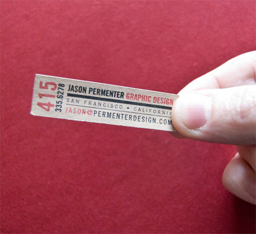 Business Card for: Jason Permenter