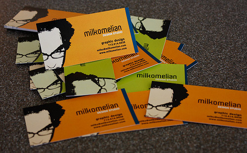 Milko's Business Card