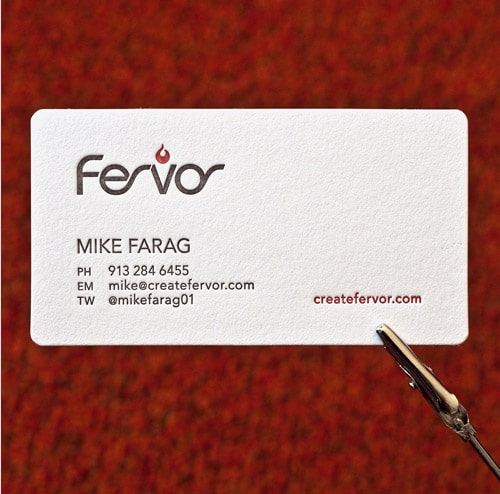 Mike Farag's Business Card