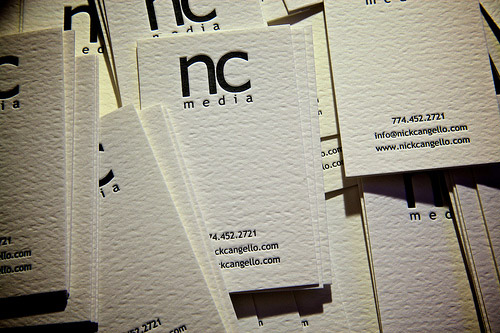 NC Media Business Card