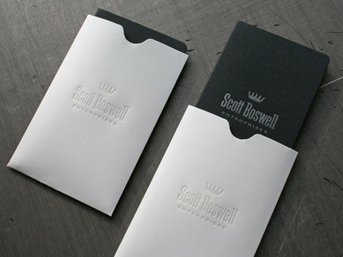 Scott Boswell Enterprises Business Card by 3 Advertising