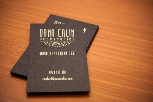OanaCalin Accessories - Business Cards