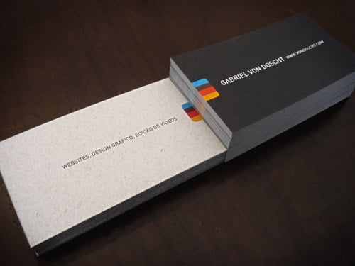 Gabriel Von Doscht - Business Cards