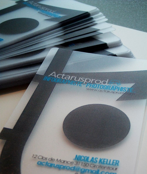 ActarusProd - Business Cards