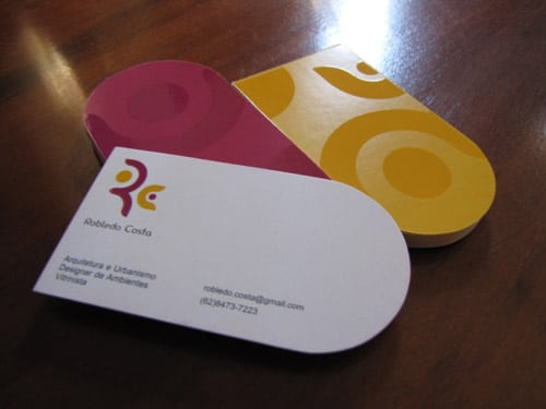 Robledo Costa - Architect - Business Card
