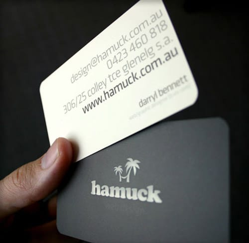 Hamuck Business Card