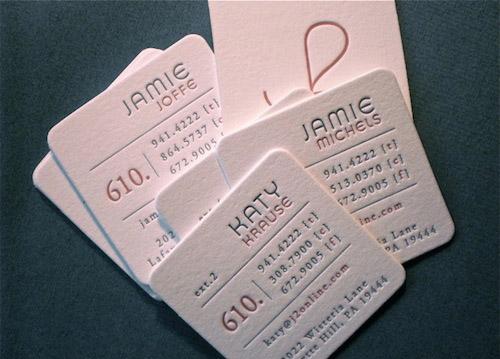 J2 Letterpress Card