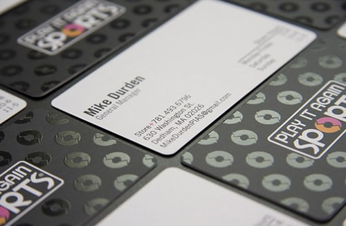 Play It Again Business Card By Steve Balchunas