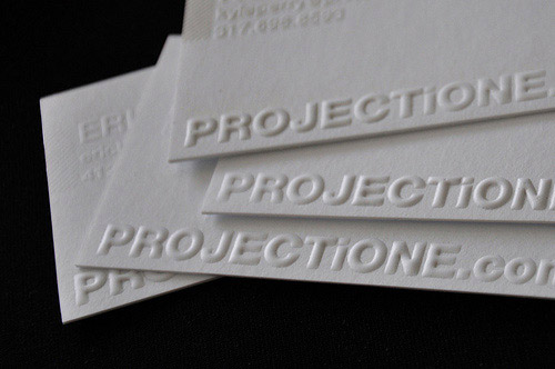 Business Card for: PROJECTiONE
