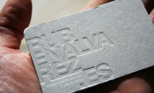 Business Card for: Ruben Alvarez