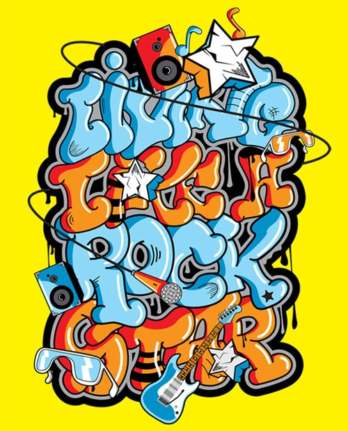 Graffiti (off the streets) From:  Mike Karolos