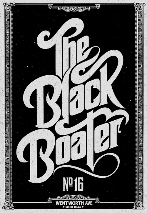 The Black Boater From:  Like Minded Studio