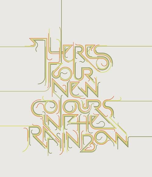 Visual Lyrics (Still in process) From:  Gert Schoeman