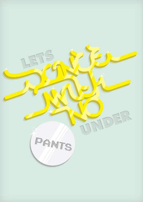 Typography From:  Jasper Willemsen