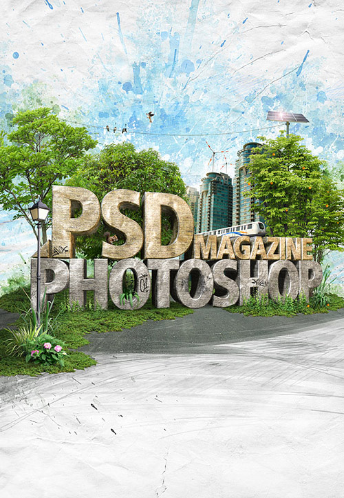 psd mag cover
