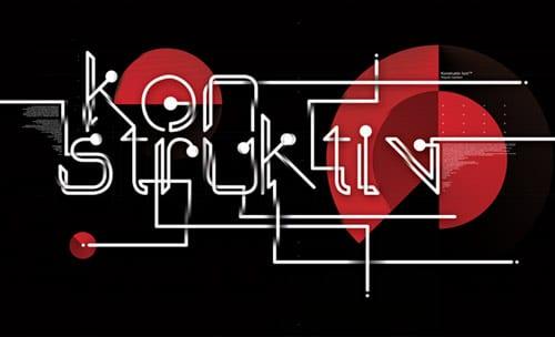 Konstruktiv font From:  Jean-Michel Verbeeck