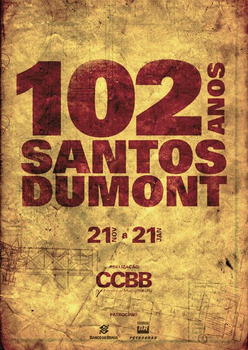 Santos Dumont's Poster