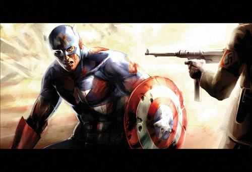 Captain America by AGNakamura