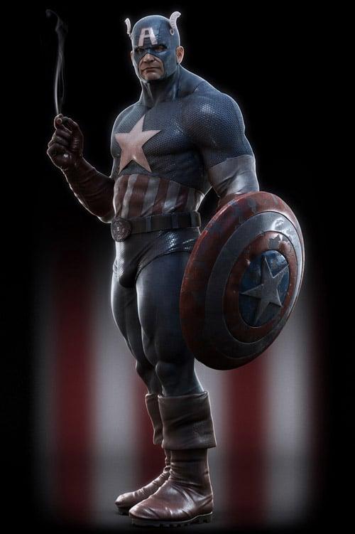 Captain America, Sven Juhlin (3D)