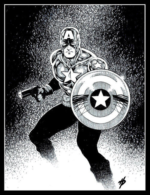 Captain America by Hal-2012