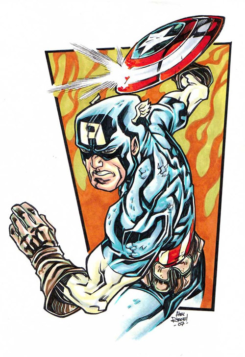 Captain America by illustrated1
