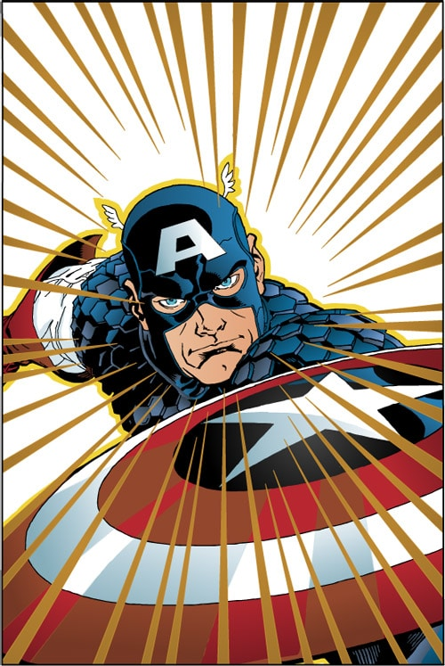 Captain America by buffman