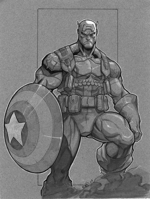 captain a by MiaCabrera