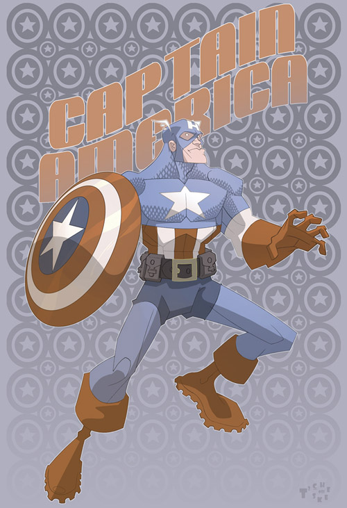 Captain America by TimTownsend