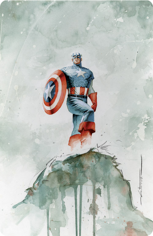 Captain America 3 Cover by mbreitweiser