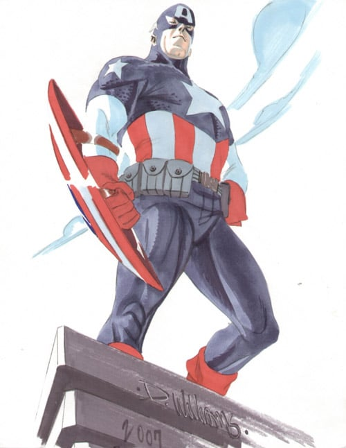 Captain America LIVES by BroHawk