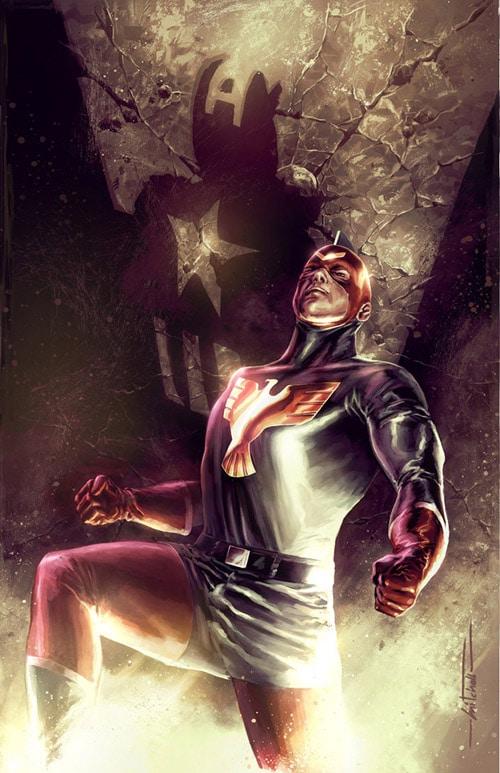 Captain America: PATRIOT by mbreitweiser