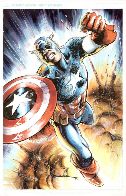 Captain America Commission by Cinar
