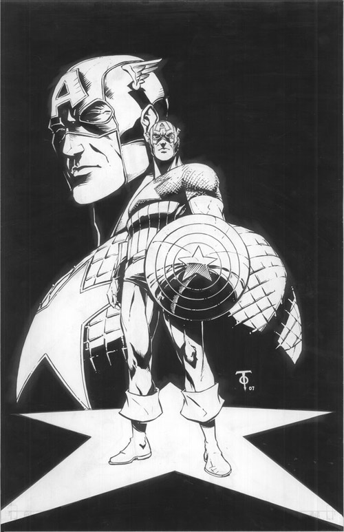 Captain America by 0boywonder0