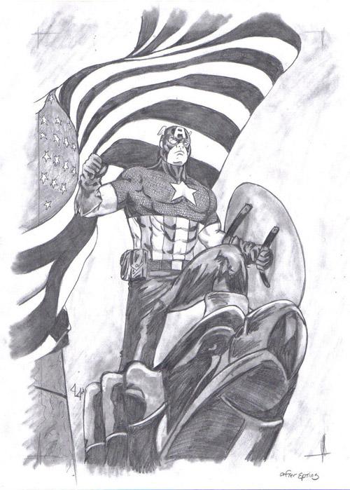 Steven Rogers-Captain America by mynightmare78