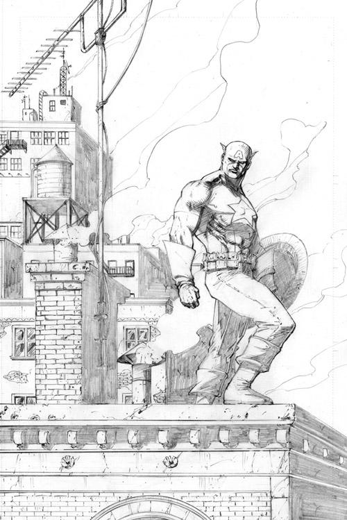 Captain America by davidnewbold