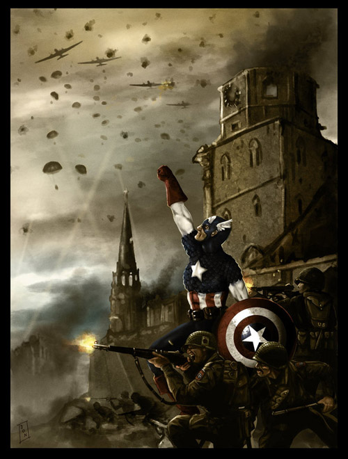 Captain America by Ashmantle
