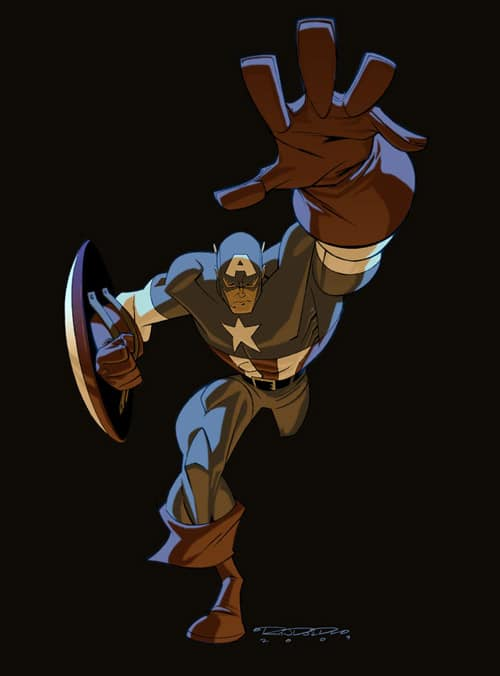 Captain America by KidKalig