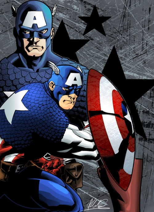 Captain America by MechaSoldier
