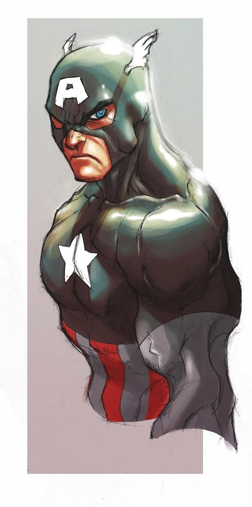 Captain America by MiaCabrera
