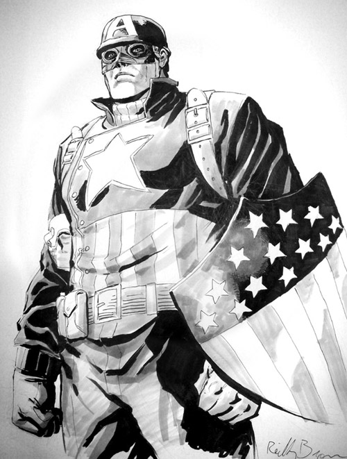 Ultimate Captain America by ReillyBrown