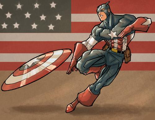 Captain america by soulrailer