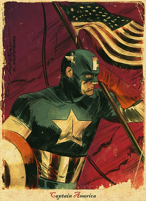 Captain America MBreitweiser by skutterfly