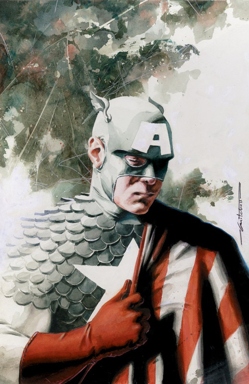 captain america issue 2 cover by mbreitweiser