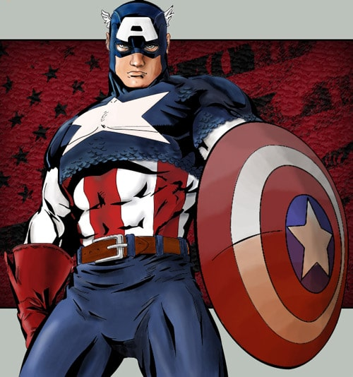 Captain America Man by Liquid-86