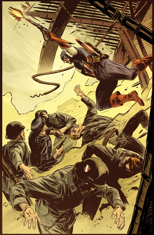 Captain America:Theatre of War by mbreitweiser