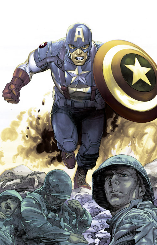 CAPTAIN AMERICA WW2 by DaneRot